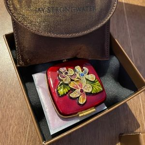 Jay Strongwater Compact Mirror